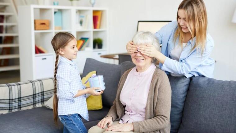 pomysł na prezent dla babci